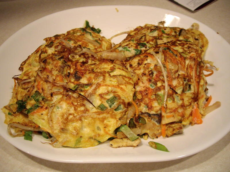 Chicken Egg Foo Young (1/2)