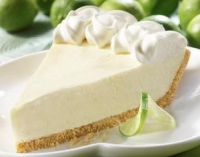 Skinny Key Lime Pie