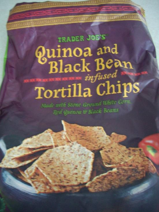 Quinoa & Black Bean Tortilla Chips